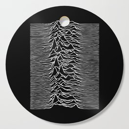Joy Division lines Cutting Board