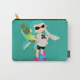 Inkling Girl (Aqua) - Splatoon Carry-All Pouch
