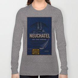 Vintage poster - Neuchatel Long Sleeve T-shirt