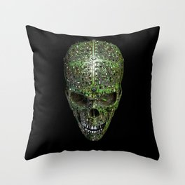 Bad data Throw Pillow