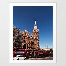 Sunny London Art Print