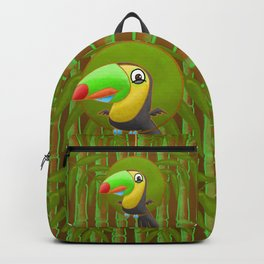 Excited Toucan! Backpack
