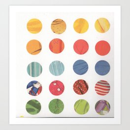 dots 1 Art Print