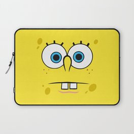 Spongebob Surprised Face Laptop Sleeve