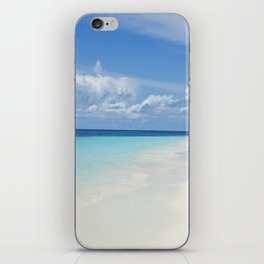 The Maldives' Blue iPhone Skin