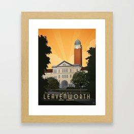 Fort Leavenworth Framed Art Print