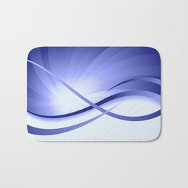 Ruhe - Blautöne Bath Mat