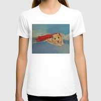 hamster T-shirts featuring Hamster Superhero by Michael Creese