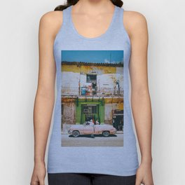 Summer in Cuba Unisex Tank Top
