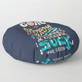 Increase Awesome, Decrease Suck Floor Pillow