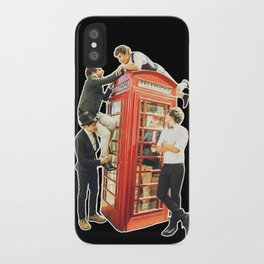 One Direction - Phone Booth iPhone Case