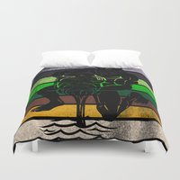 aquarius Duvet Covers featuring Aquarius by Rendra Sy