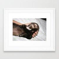 freud Framed Art Prints featuring freud by babybear