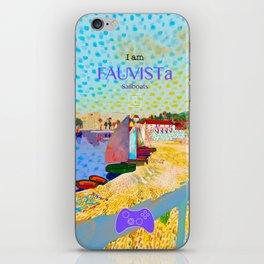 FAUVISTa Sailboats iPhone Skin