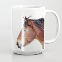 Horse Portrait Coffee Mug