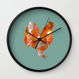 Mrs Hen Chicken Wall Clock