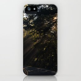 Ray of sunlight iPhone Case
