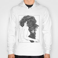 apollonia Hoodies featuring asc 590 - Le peigne (Combing her hair) by From Apollonia with Love