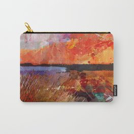 Landscape with sunset Carry-All Pouch