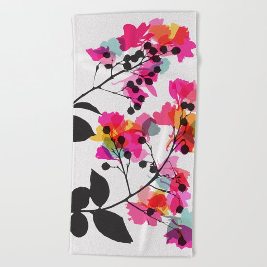 myrtle 4 Beach Towel