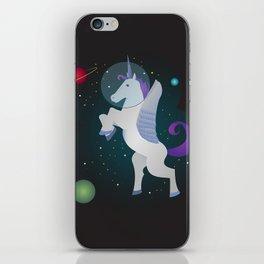 Space Pegacorn iPhone Skin