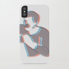 Boxing Ali (coulour) Slim Case iPhone X