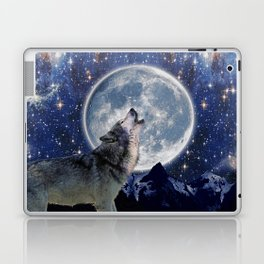A One Wolf Moon Laptop & iPad Skin
