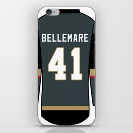 Pierre-Edouard Bellemare Jersey iPhone Skin