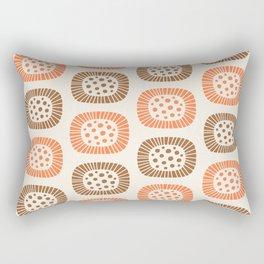 Atomic Sunburst 7 Rectangular Pillow