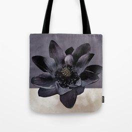 Black Lotus Watercolor Digital Art 2 Tote Bag