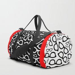 Smart Glasses Pattern Duffle Bag
