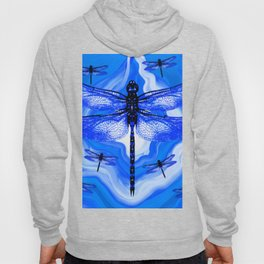 DRAGONFLY BLUE AGATE Hoody