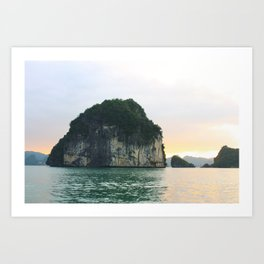Halong Bay Art Print