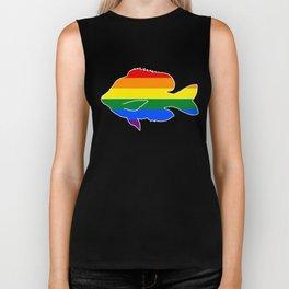 LGBT Pride Sunfish Biker Tank