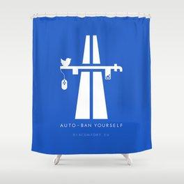 AutoBan Yourself Shower Curtain