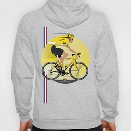 France Yellow Jersey Hoody