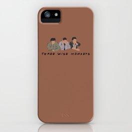 Three Wise Monkeys. iPhone Case