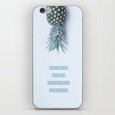 pineapple crown iPhone & iPod Skin