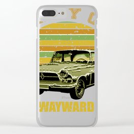 CARRY ON MY WAYWARD SON Clear iPhone Case