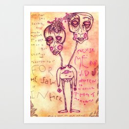 That Moment Art Print