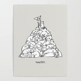Meowtain Poster