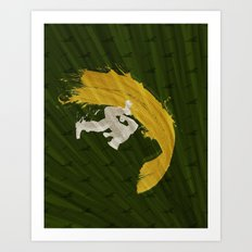 For Charlie (Homage To Guile) Art Print