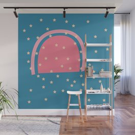 Star Shine Sunset Wall Mural