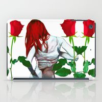 mia wallace iPad Cases featuring Mia by Lee Wilde