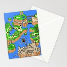 Mario World Stationery Cards