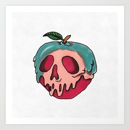 Poison Apple Art Print