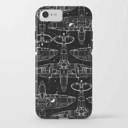 Spitfire Mk. XIV (white) iPhone Case