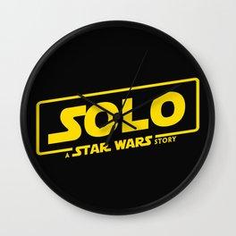 Solo Story Wall Clock