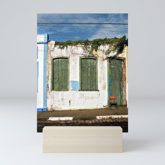 away Mini Art Print