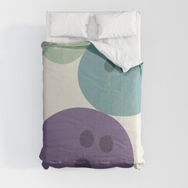 Abstract No.15 Bowling Balls Comforters